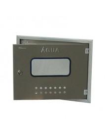 Aro com porta para contador de água